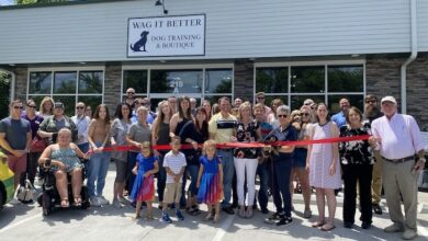 Ribbon Cutting for Wag it Better Dog Training and Boutique