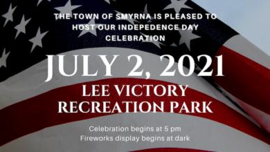 Smyrna 2021 Fireworks