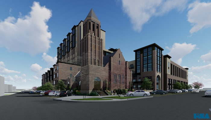 Architect's Rendering of One East College Project