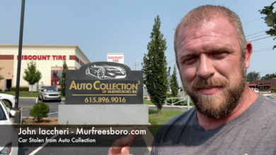 Car Stolen from Auto Collection of Murfreesboro