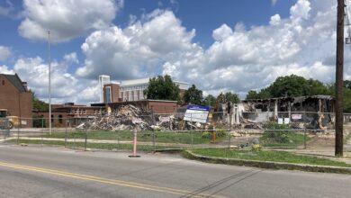 Historic Downtown Block Demolition
