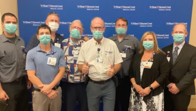 TriStar StoneCrest Medical Center celebrates retirement of one of their Legacy Employees