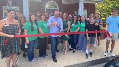 Morter Family Chiropractic Ribbon Cutting