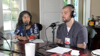 Podcast Epiosde 22 - Dr. Vineesha Arelli and Gideon Bell RN