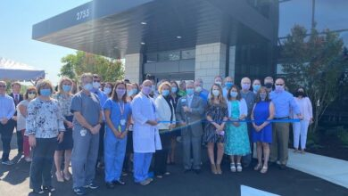 RIbbon Cutting at New Salem Surgery Center and Ascension Medical Group Saint Thomas Specialty Clinic
