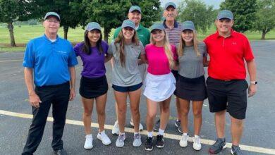 Smyrna Golf staff and First Tee volunteers