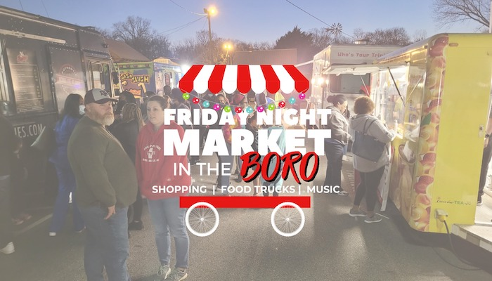 Friday Night Market in the Boro
