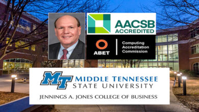 MTSU Jones College Accreditations 2021