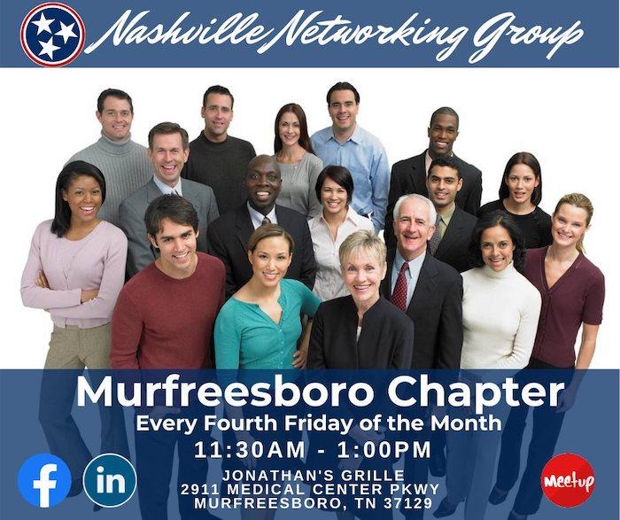 Nashville Networking Group - Murfreesboro LIVE Event