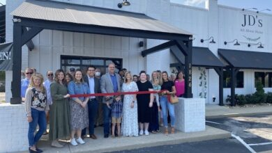 Relocation Ribbon Cutting for JD's All About Home