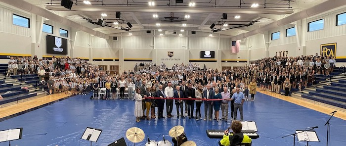 Ribbon Cutting for PCA Allen Academic and Athletic Center