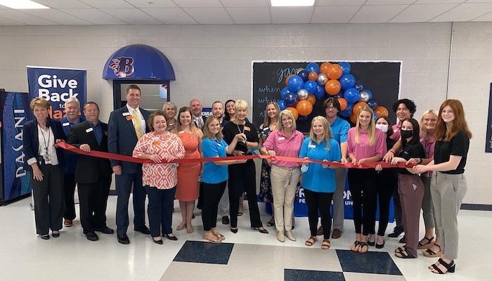 Ribbon Cutting for Redstone Federal Credit Union at Blackman High School