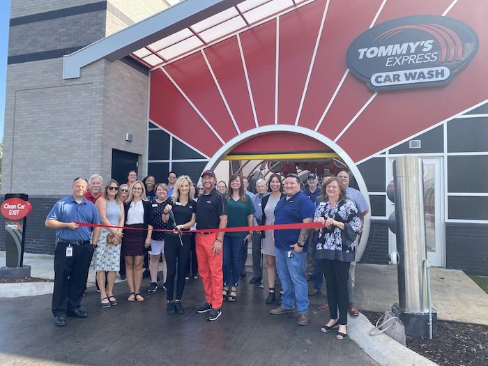 Ribbon Cutting for Tommy's Express Car Wash