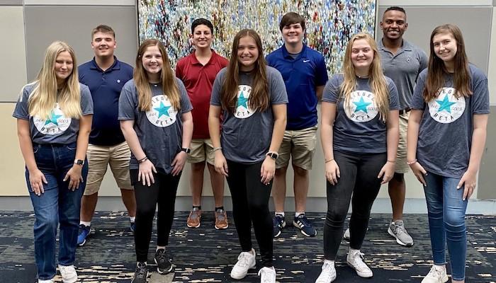 Siegel High School National Beta Club Leadership Summit Winners