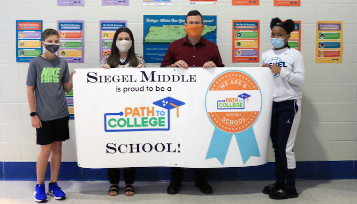 Siegel Middle Path to College
