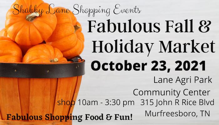 Fabulous Fall and Holiday Market