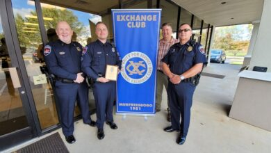 Johnathan Pope 'Officer of the Year'