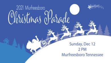 Murfreesboro Christmas Parade 2021