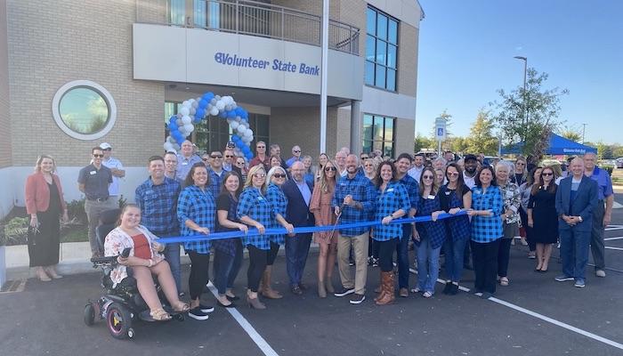 Ribbon Cutting for Volunteer State Bank