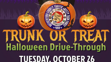 Rutherford County Traffic Safety Task Force Halloween event