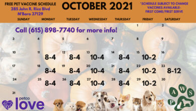 Schedule-Free Pet Vaxs at PAWS