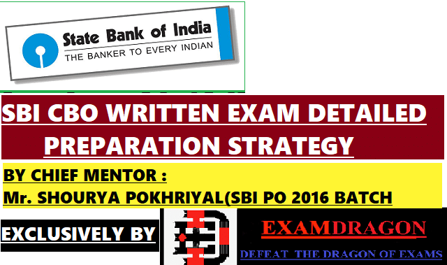 sbi cbo written exam