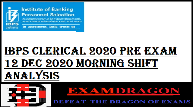 IBPS CLERICAL 2020 PRE