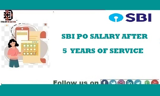 SBI PO SALARY AFTER