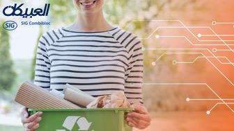 ثلاثة محفزات للاستدامة تعيد تشكيل صناعة تغليف المواد الغذائية في منطقة الشرق الأوسط وأفريقيا وفقًا للعبيكان إس آي جي كومبيبلوك