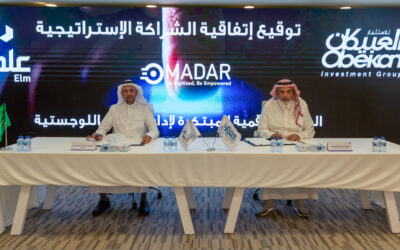"""Elm"" invests in ""Madar"", affiliate of Obeikan Investment Group, and affirms growth plans to support entrepreneurial projects"