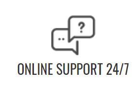 Online Support 24/7