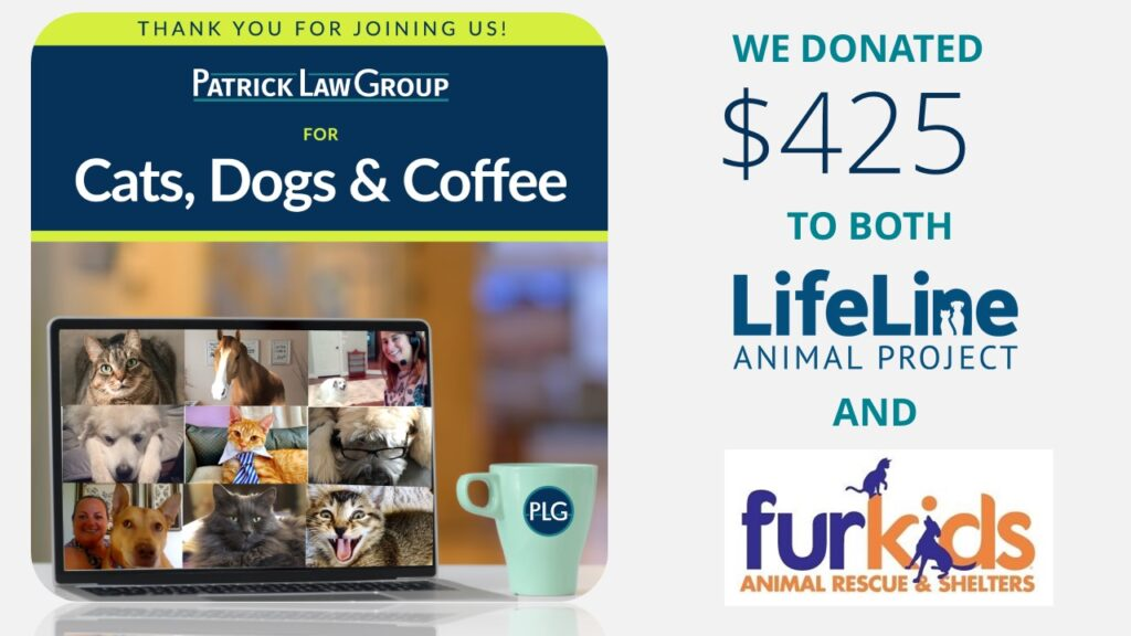 Post – Pets event thank you donation ammount example