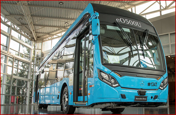 Ken Zino of AutoInformed.com on Mercedes-Benz Brazil Shows Electric Bus