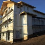 Polycore by S I Construction Systems complete house walkout build three levels
