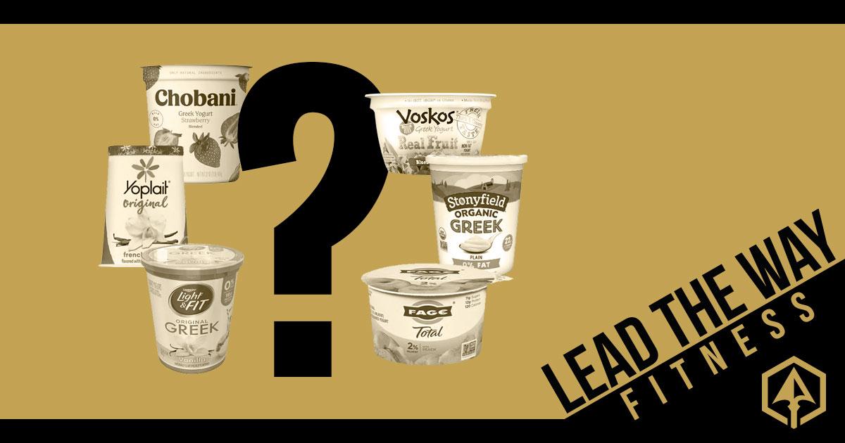 Battle of the Greek Yogurt