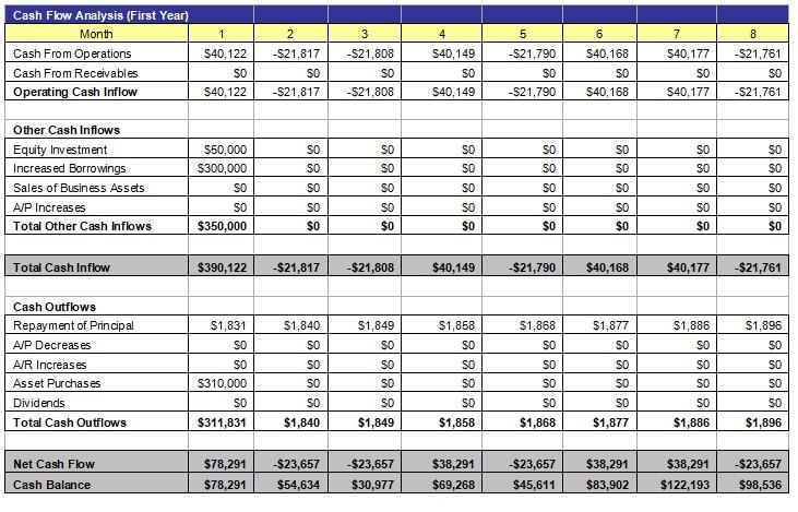 Cash Flow Analysis 1