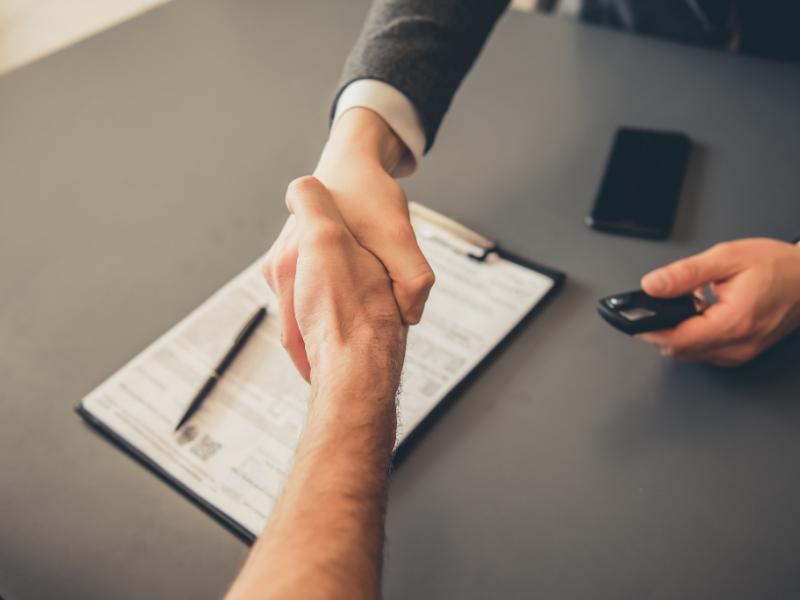 Auto dealer bond paperwork