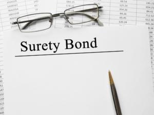 Surety Bond Paper Work