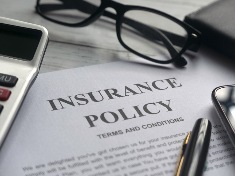Insurance Policy Paperwork