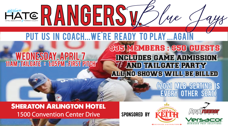 HATC Tailgate Party & Texas Ranger Game