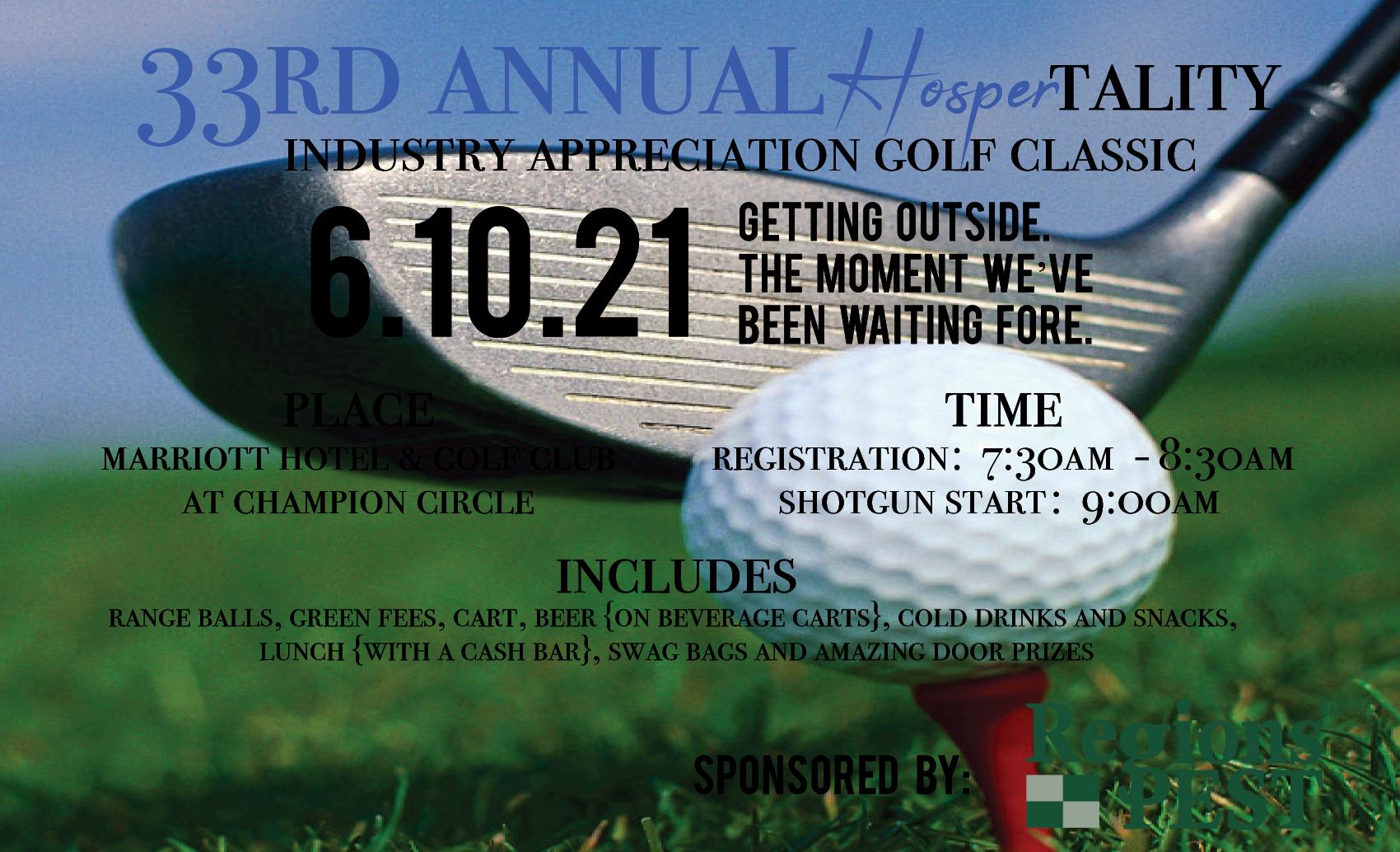 HOSPERtality Golf Tournament