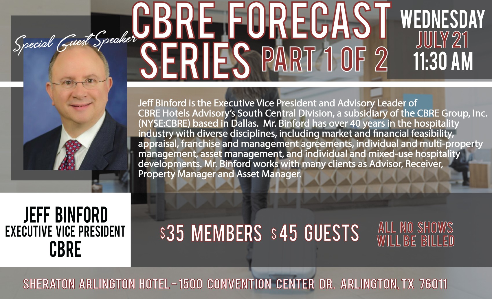 July CBRE Forecast Series Part 1
