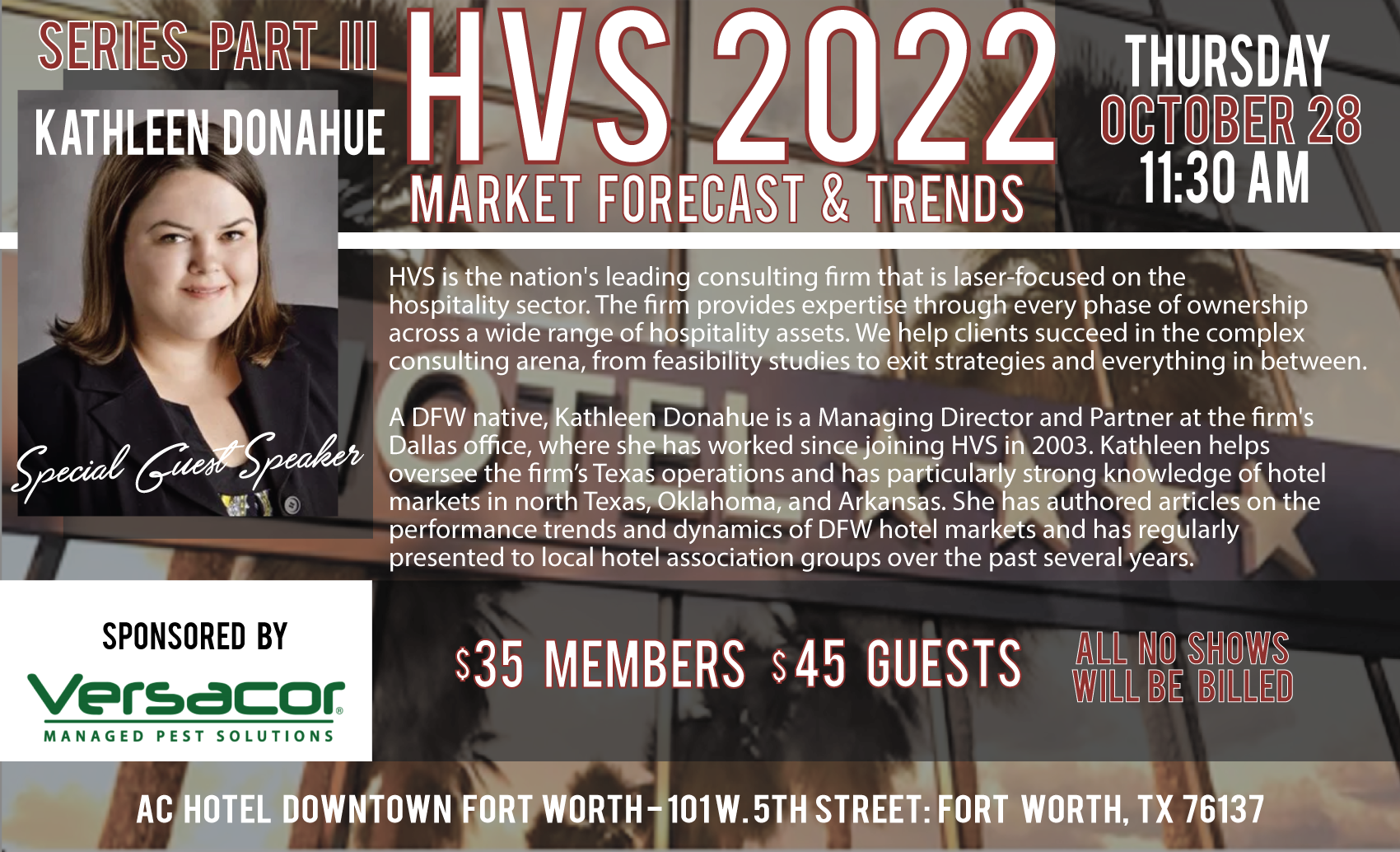 October Trends Meeting with HVS