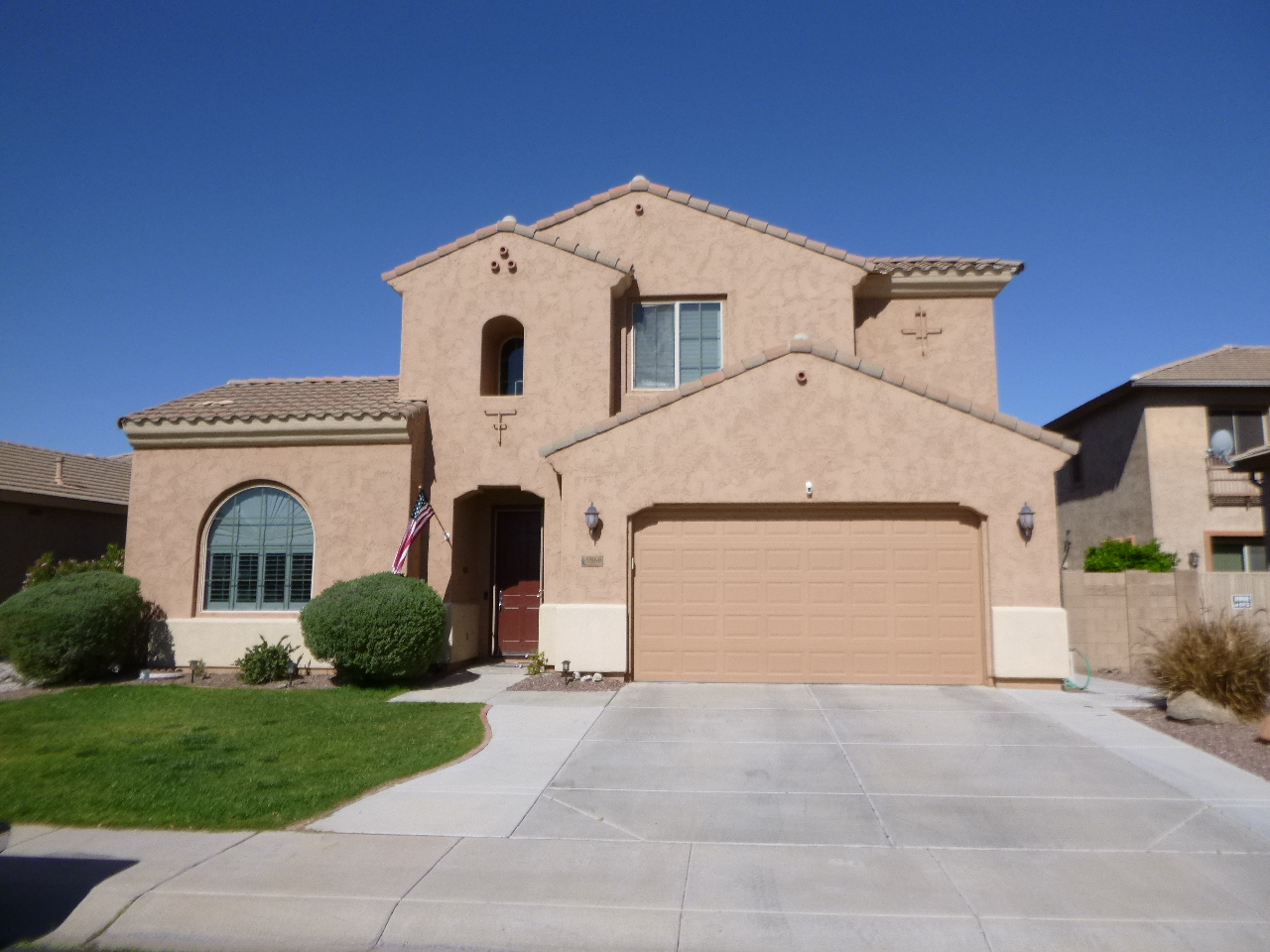 A home that needs a home energy audit in Phoenix, AZ