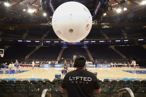 Piloting AirCamOne at MSG