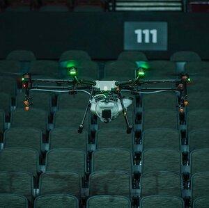 Drone Stadium Shot