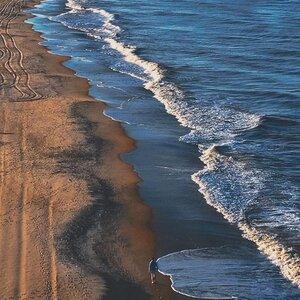 Beach Drone Shot