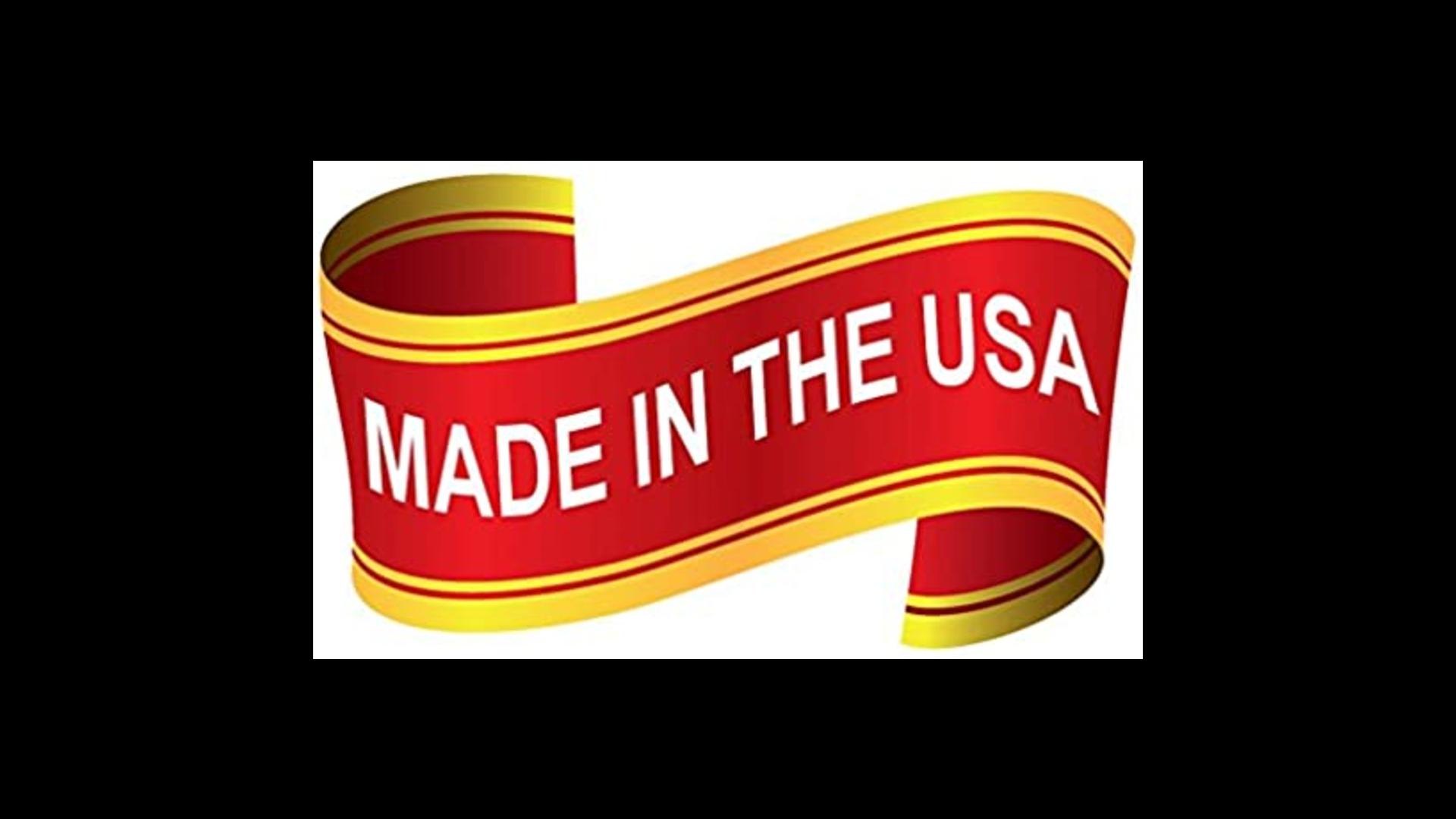 Bess made in U.S.A banner