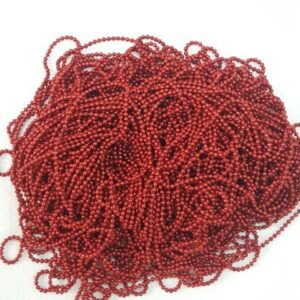 Ball Chain red colour 0 size