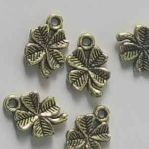 Antique Metal Leaf and Charms